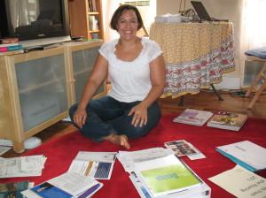 STEP 4: Kristin in Process